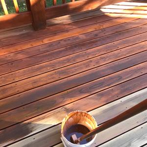 Deck Staining Vail Colorado