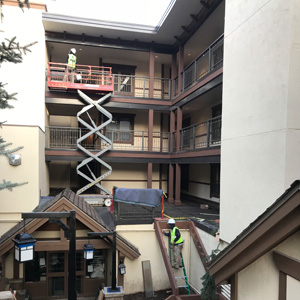 Commercial Paint Services Vail Colorado